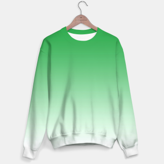 Thumbnail image of Green Light Ombre Sweater, Live Heroes