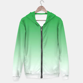 Thumbnail image of Green Light Ombre Hoodie, Live Heroes