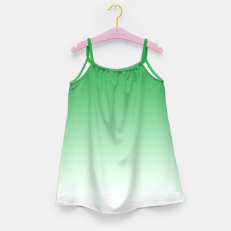 Thumbnail image of Green Light Ombre Girl's Dress, Live Heroes