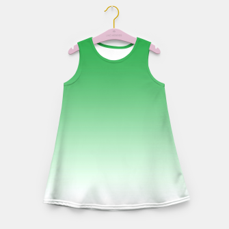Imagen en miniatura de Green Light Ombre Girl's Summer Dress, Live Heroes