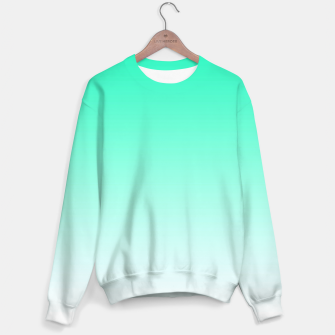 Thumbnail image of Turquoise Light Ombre Sweater, Live Heroes