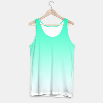 Thumbnail image of Turquoise Light Ombre Tank Top, Live Heroes