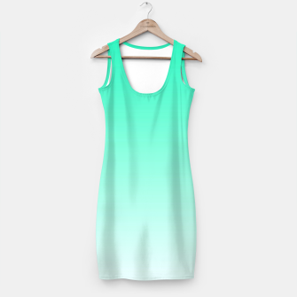 Thumbnail image of Turquoise Light Ombre Simple Dress, Live Heroes