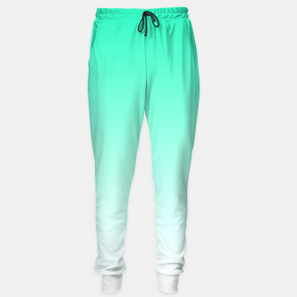 Thumbnail image of Turquoise Light Ombre Sweatpants, Live Heroes