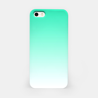 Thumbnail image of Turquoise Light Ombre iPhone Case, Live Heroes