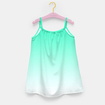 Thumbnail image of Turquoise Light Ombre Girl's Dress, Live Heroes