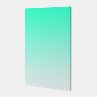 Thumbnail image of Turquoise Light Ombre Canvas, Live Heroes
