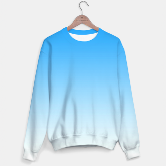Thumbnail image of Cerulean Blue Light Ombre Sweater, Live Heroes