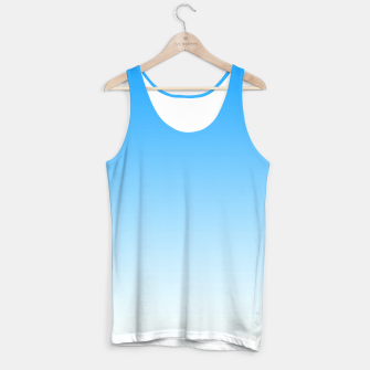 Thumbnail image of Cerulean Blue Light Ombre Tank Top, Live Heroes