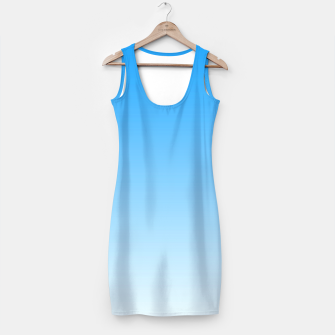 Thumbnail image of Cerulean Blue Light Ombre Simple Dress, Live Heroes