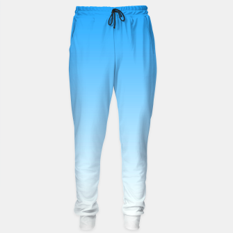Thumbnail image of Cerulean Blue Light Ombre Sweatpants, Live Heroes