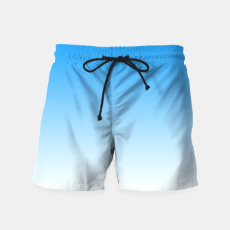 Thumbnail image of Cerulean Blue Light Ombre Swim Shorts, Live Heroes