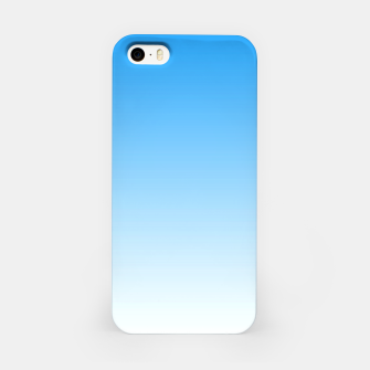 Thumbnail image of Cerulean Blue Light Ombre iPhone Case, Live Heroes