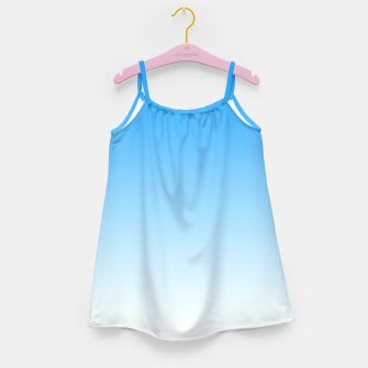 Thumbnail image of Cerulean Blue Light Ombre Girl's Dress, Live Heroes