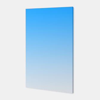 Thumbnail image of Cerulean Blue Light Ombre Canvas, Live Heroes