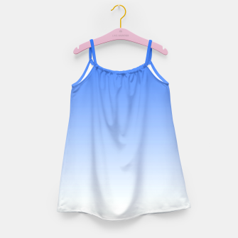 Thumbnail image of Blue Light Ombre Girl's Dress, Live Heroes