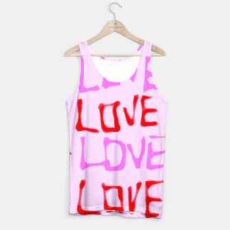 Thumbnail image of LOVE alphabet handwriting drawing in red and pink Tank Top, Live Heroes