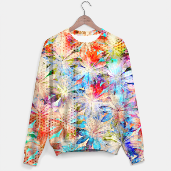 Thumbnail image of Colorful Summer leaves Sweatshirt, Live Heroes