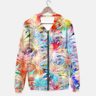 Thumbnail image of Colorful Summer leaves Kapuzenpullover, Live Heroes