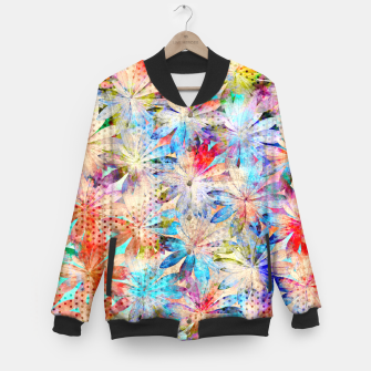 Thumbnail image of Colorful Summer leaves College-Jacke, Live Heroes