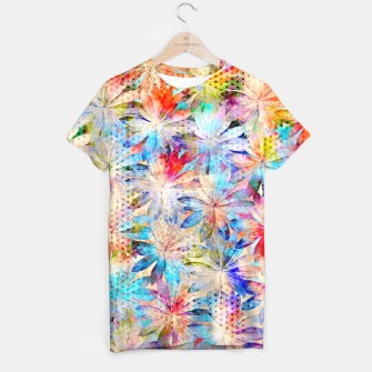 Miniatur Colorful Summer leaves T-Shirt, Live Heroes