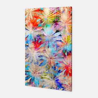Thumbnail image of Colorful Summer leaves Canvas, Live Heroes