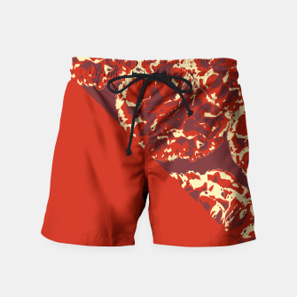 Thumbnail image of RICH RED Swim Shorts, Live Heroes