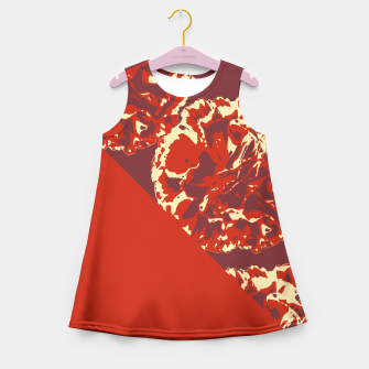 Imagen en miniatura de RICH RED Girl's Summer Dress, Live Heroes