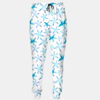 Thumbnail image of Blue Starfish Pattern Trainingshose, Live Heroes