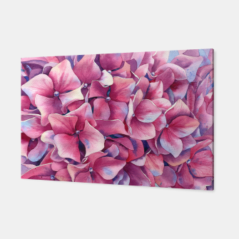 """Thumbnail image of """"Pink hydrangea"""" Canvas, Live Heroes"""