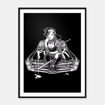 Thumbnail image of Winya No. 94 Framed poster, Live Heroes