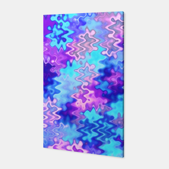 Thumbnail image of Blue and Purple Marble Waves  Canvas, Live Heroes