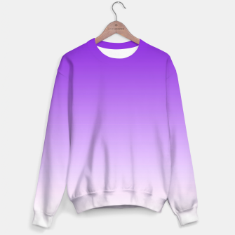 Thumbnail image of Purple Light Ombre Sweater, Live Heroes