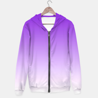 Thumbnail image of Purple Light Ombre Hoodie, Live Heroes