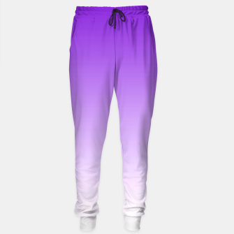 Thumbnail image of Purple Light Ombre Sweatpants, Live Heroes