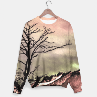 Thumbnail image of Fantasy Landscape Illustration Sweater, Live Heroes