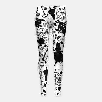 Imagen en miniatura de Alice in Wonderland Girl's Leggings, Live Heroes