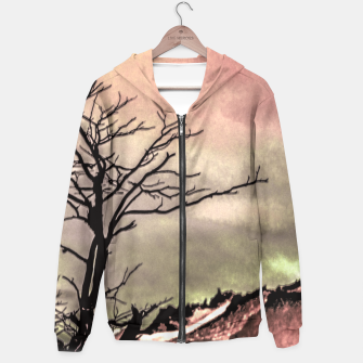 Thumbnail image of Fantasy Landscape Illustration Hoodie, Live Heroes