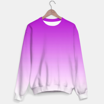 Thumbnail image of Violet Light Ombre Sweater, Live Heroes