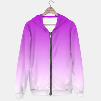 Thumbnail image of Violet Light Ombre Hoodie, Live Heroes