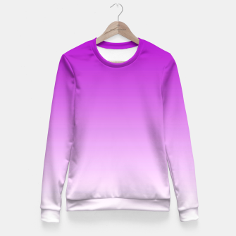 Miniaturka Violet Light Ombre Fitted Waist Sweater, Live Heroes