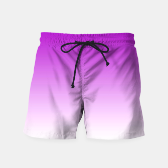 Thumbnail image of Violet Light Ombre Swim Shorts, Live Heroes