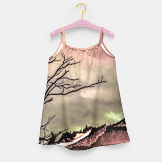 Thumbnail image of Fantasy Landscape Illustration Girl's Dress, Live Heroes