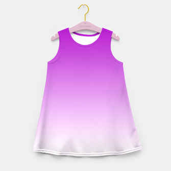 Thumbnail image of Violet Light Ombre Girl's Summer Dress, Live Heroes