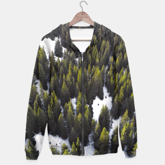 Thumbnail image of Winter Forest Hoodie, Live Heroes