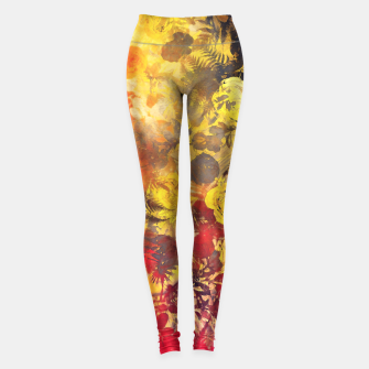 Thumbnail image of flowers yellow Legginsy, Live Heroes