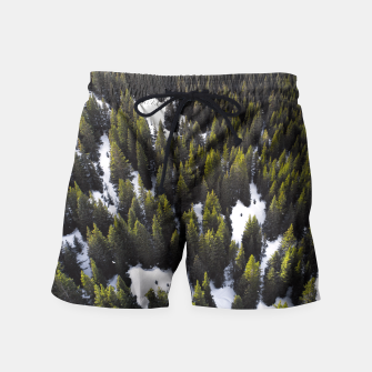 Thumbnail image of Winter Forest Swim Shorts, Live Heroes
