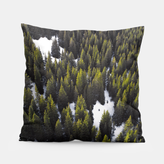 Imagen en miniatura de Winter Forest Pillow, Live Heroes