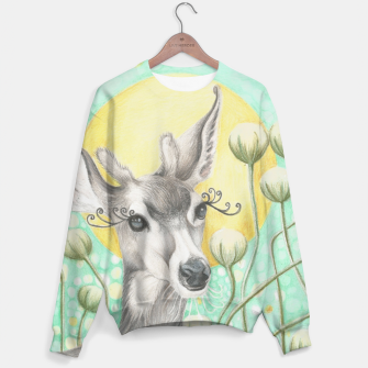 Thumbnail image of mint deer Sweater, Live Heroes
