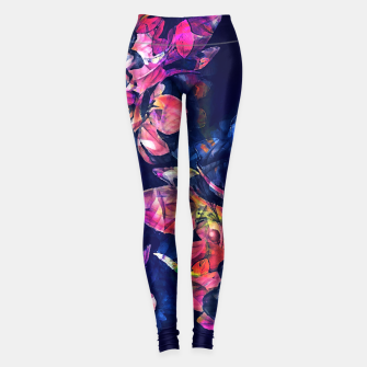 Thumbnail image of roses Legginsy, Live Heroes